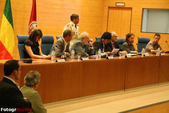 Errejón e Iglesias promovieron la visita de Evo Morales a la Facultad